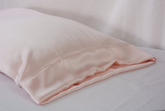 100 Pure Silk Pillowcase Pink Charmeuse By Adorabellababy