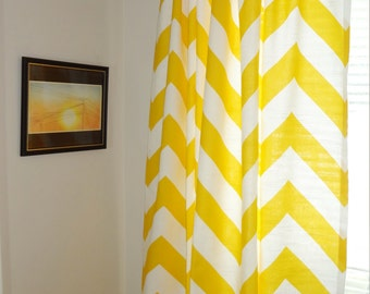 Curtain Panels Zippy Chevron Large Print Zig Zag Curtains Yellow Mint Pink Black Navy Chevron Curtains All Sizes
