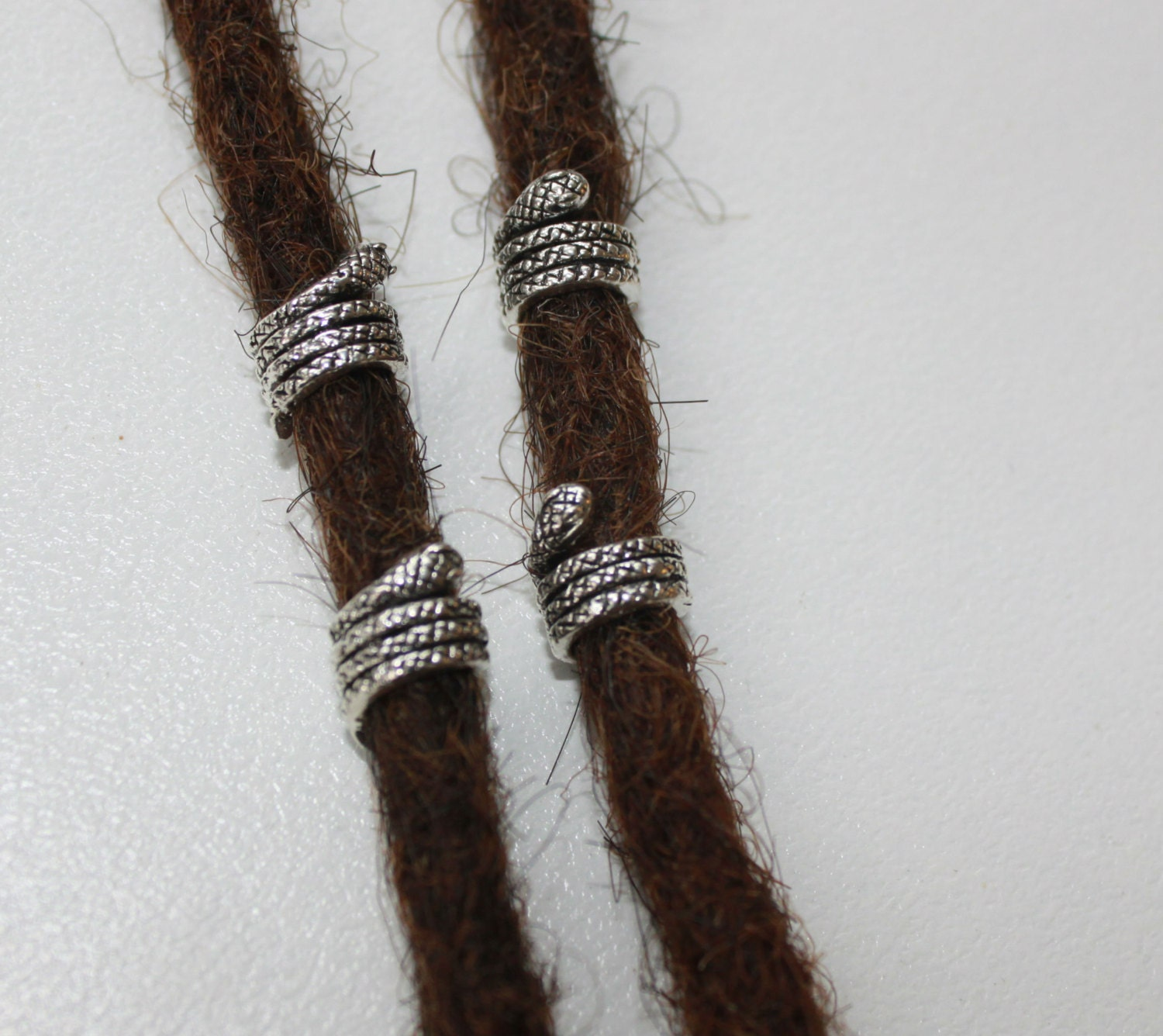 Dreadlock Beads 4 tiny snake dread bea...