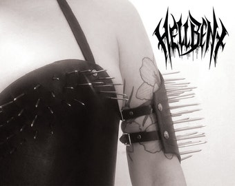 Hellbent Possessed Black Metal Bicep Guard