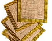 Fabric coasters - Sari Fa...