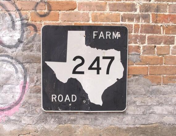 Traffic Signs Wall Decor : Traffic sign texas wall decor fm road highway