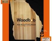 16'' Georgia personalized cutting board cutting boards wood cutting board wooden cutting board cutting board personalized engraved gifts