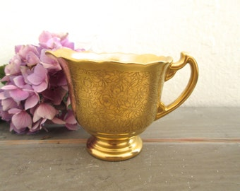 Gold Creamer Pickard USA 22K
