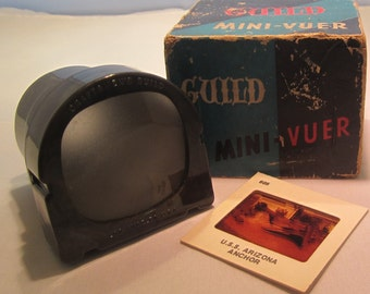 Vintage Guild Slide Viewer in Original Box