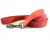 Dog Leash, DARK PINK, Handmade Dog Leash