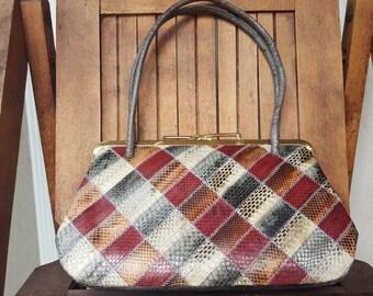 PYTHON    ///    Patchwork Handbag