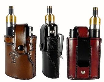 Vapor Flask Leather Holster, Handmade Vaporflask Case