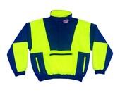 Rare 80s Coors Light Neon Colorblock Logo Ski Jacket - M