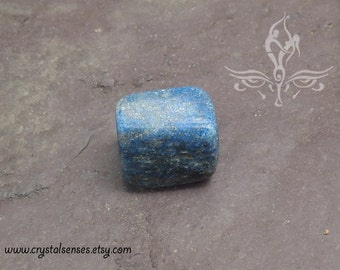 Lapis Lazuli Tumbled Gemstone Crystal - 1 piece Large Size (LL0029) Organization, Intuition, Psychic Abilities, Third Eye Chakra