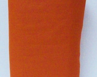 Copper 20% Merino Wool Felt Blend Fabric By the Yard from Woolhearts