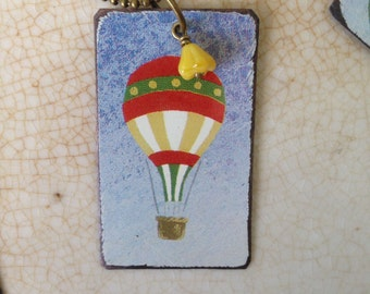 """Tin Jewelry Necklace """"Drift Away"""" #3 Tin for the Ten Year Tenth Wedding Anniversary"""