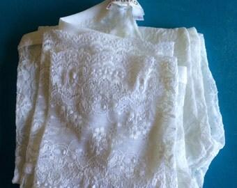 PINKO - White Lace Leggings - S