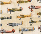 Natural Airplanes from Robert Kaufman's Transportation Collection by Phoenix Creative Collection