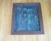 Oil Paintings, Abstract Expressionism Oil Painting by J Roth owned by Walter Lang