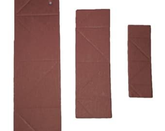 3D Origami  Paper  Dark Brown