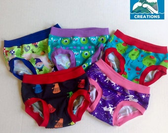 LilBug Undies Sizes 12 months through size 10 UPDATED!