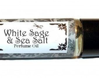 WHITE SAGE & Sea Salt /  Bath Salts / Perfume oil / Fragrance Spray  You Pick