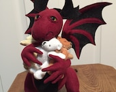 Exclusively for Michael Martin - Red Dragon With Teddy Bears