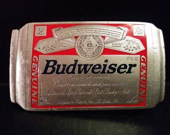 Budweiser Beer Vintage Belt Buckle