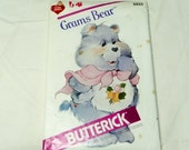 Butterick Pattern 6933, Care Bears, Grams Bear