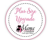 Plus Size Upgrade Any Apron Purchase To A Plus Size 22-24 ...APRON IS ADDITIONAL
