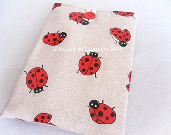 Fabric iPad sleeve
