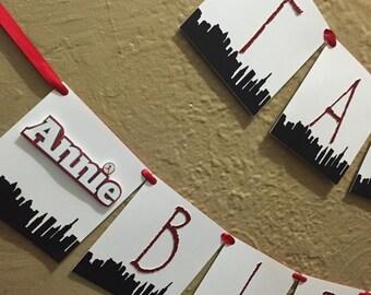 Annie/New York/ Skyline inpired banner