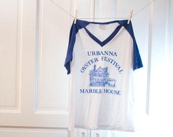 80s Urbanna Oyster Festival shirt - Marble House t-shirt - Virginia Fest Tshirt - MerryGarden