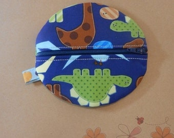 Baby Boy Paci Pod in Dinosaur Fabric READY TO SHIP!!