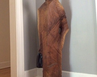 Shopping sculpture wood walnut carving