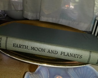 Earth, Moon And Planets The Harvard Books on Astronomy by Fred L Whipple 1952