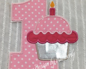 Custom Birthday Number Patch Your choice of color(s) and number