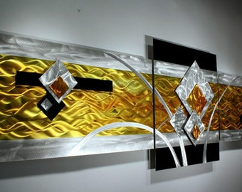 Alex Kovacs - Original Art Metal Wall Sculpture Abstract Home Decor Painting - AK332