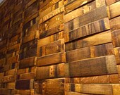 Wine Barrel Wall Paneling