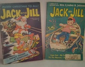 Delightful Jack and Jill Christmas and summer Children's magazines