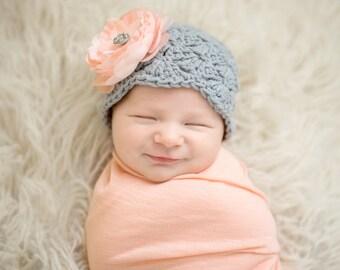 baby hats, newborn girl hat, crochet baby hat, hospital hat, newborn girl, baby girl, baby girl hat, girls hat, newborn, girls hospital hat