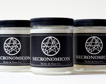 Scented Candle - Neconomicon - Lovecraft - Horror