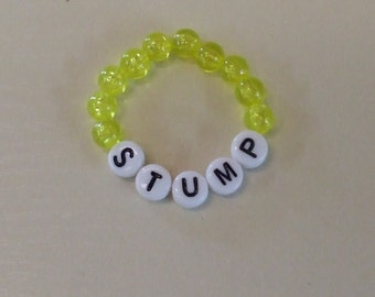 Newborn name bracelet.