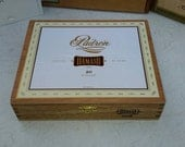 Cigar Box Padron Special Edition Low Wooden Chest Classic Style Six In Stock by IndustrialPlanet