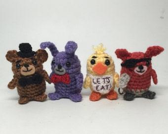 Five Nights at Freddy's FNAF Crochet doll Amigurumi Patterns