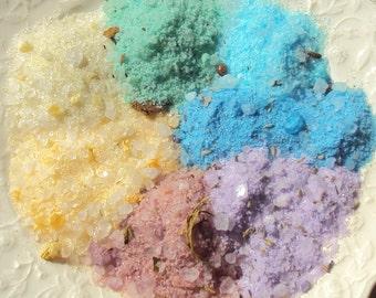 7 Chakra Herbal Bath Salts - You Pick Which Chakra - 3 ounces