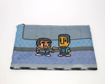 Community Troy and Abed pouch