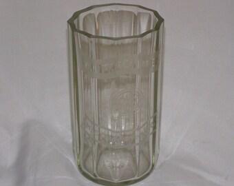 """Winterschladens Middlesbrough Vintage Jar/ Bottle/ Vase would make Beautiful Floral Vase 8""""  Tall"""