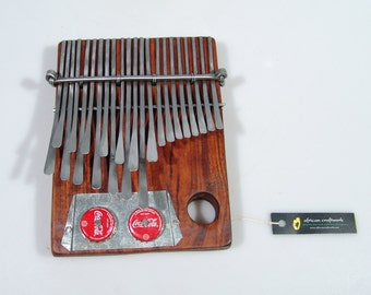 23 Key Medium Mbira Thumb Piano Kalimba - Nhare Tuned - by C.Vambe Handmade in Zimbabwe. Ships fast from USA!