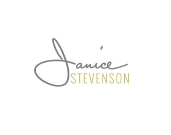 Jewelry Logo Design-Custom Logo Design-Logo Branding Package with business card and hang tag