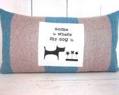 50% CLEARANCE SALE Decorative pillows, rustic pillow, dog pillow, pet decor, dogs,farmhouse decor, animal decor, rustic decor, rustic