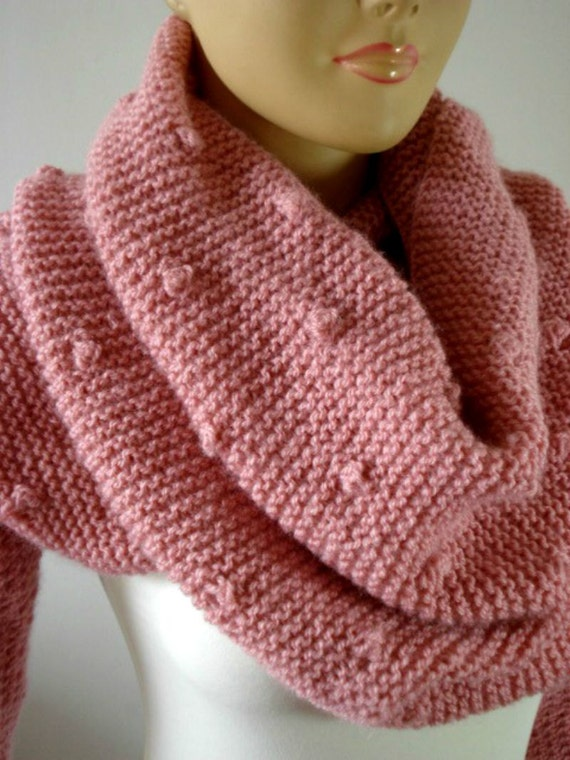 Knitting Pattern For Scarf With Sleeves : KNITTING PATTERN Scarf with Sleeves Celine by LiliaCraftParty