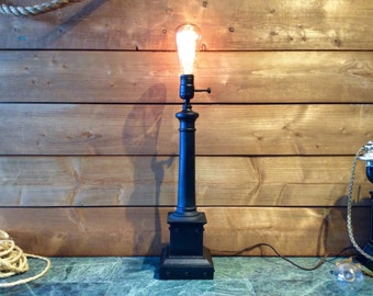 Upcycle Vintage Industrial Table Lamp