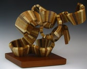 wood sculpture abstract sculpture wood art